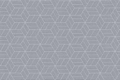 36920-4 cikkszámú tapéta.Csillámos,geometriai mintás,különleges felületű,ezüst,lemosható,vlies tapéta