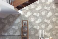36921-4 cikkszámú tapéta.Barokk-klasszikus,különleges felületű,természeti mintás,virágmintás,fehér,szürke,súrolható,vlies tapéta