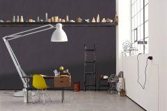 36922-2 cikkszámú tapéta.Egyszínű,különleges felületű,textilmintás,szürke,súrolható,illesztés mentes,vlies tapéta