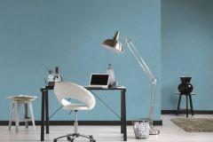 36925-8 cikkszámú tapéta.Egyszínű,különleges felületű,textilmintás,kék,súrolható,illesztés mentes,vlies tapéta