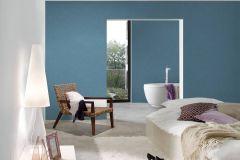 36925-9 cikkszámú tapéta.Egyszínű,különleges felületű,textilmintás,kék,súrolható,illesztés mentes,vlies tapéta