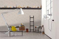 36927-2 cikkszámú tapéta.Különleges felületű,természeti mintás,bézs-drapp,fehér,súrolható,vlies tapéta