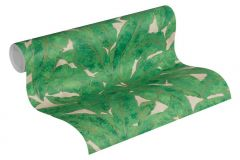 36927-3 cikkszámú tapéta.Különleges felületű,természeti mintás,arany,bézs-drapp,zöld,súrolható,vlies tapéta