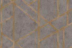 36928-1 cikkszámú tapéta.Absztrakt,különleges felületű,arany,barna,szürke,súrolható,vlies tapéta
