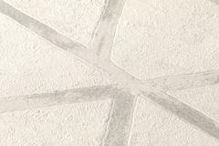 36928-5 cikkszámú tapéta.Absztrakt,különleges felületű,ezüst,fehér,szürke,súrolható,vlies tapéta