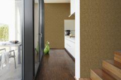 32424-5 cikkszámú tapéta.Textilmintás,arany,barna,súrolható,vlies tapéta