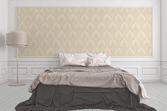 32425-2 cikkszámú tapéta.Barokk-klasszikus,barna,bézs-drapp,súrolható,vlies tapéta