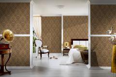 32425-3 cikkszámú tapéta.Barokk-klasszikus,arany,súrolható,vlies tapéta
