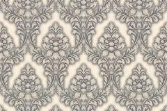 32425-5 cikkszámú tapéta.Barokk-klasszikus,fehér,szürke,súrolható,vlies tapéta