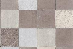 37406-3 cikkszámú tapéta.Konyha-fürdőszobai,marokkói ,barna,szürke,vajszín,súrolható,vlies tapéta