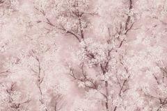 37420-4 cikkszámú tapéta.Csillámos,természeti mintás,pink-rózsaszín,szürke,súrolható,vlies tapéta