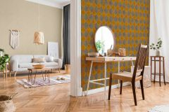 37421-2 cikkszámú tapéta.Marokkói ,bézs-drapp,narancs-terrakotta,súrolható,vlies tapéta