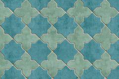 37421-4 cikkszámú tapéta.Marokkói ,kék,türkiz,súrolható,vlies tapéta
