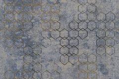 37424-5 cikkszámú tapéta.Absztrakt,geometriai mintás,arany,bronz,szürke,súrolható,vlies tapéta