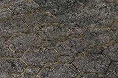 37424-6 cikkszámú tapéta.Geometriai mintás,absztrakt,arany,fekete,szürke,súrolható,vlies tapéta