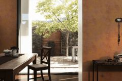 37425-3 cikkszámú tapéta.Beton,egyszínű,narancs-terrakotta,súrolható,vlies tapéta