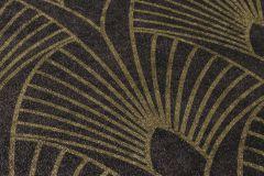 37427-3 cikkszámú tapéta.Absztrakt,arany,fekete,súrolható,vlies tapéta