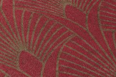 37427-4 cikkszámú tapéta.Absztrakt,arany,piros-bordó,súrolható,vlies tapéta