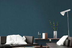37431-5 cikkszámú tapéta.Egyszínű,textilmintás,kék,súrolható,illesztés mentes,vlies tapéta