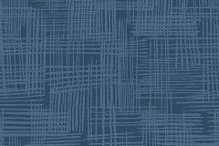 30268-1 cikkszámú tapéta.Különleges motívumos,kék,súrolható,illesztés mentes,vlies tapéta