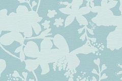 30274-2 cikkszámú tapéta.Virágmintás,kék,türkiz,zöld,súrolható,vlies tapéta