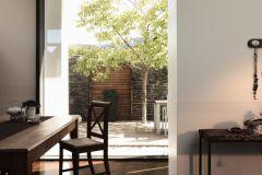 9062-12 cikkszámú tapéta.Barokk-klasszikus,konyha-fürdőszobai,kőhatású-kőmintás,különleges motívumos,rajzolt,bézs-drapp,szürke,anyagában öntapadós bordűr