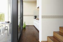 93655-1 cikkszámú tapéta.3d hatású,geometriai mintás,konyha-fürdőszobai,kőhatású-kőmintás,különleges motívumos,rajzolt,bézs-drapp,narancs-terrakotta,anyagában öntapadós bordűr