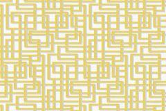 36312-4 cikkszámú tapéta.Absztrakt,textilmintás,arany,fehér,szürke,súrolható,vlies tapéta