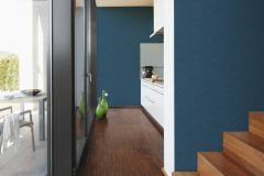 36313-1 cikkszámú tapéta.Egyszínű,különleges felületű,kék,súrolható,illesztés mentes,vlies tapéta