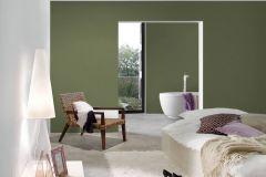 36315-9 cikkszámú tapéta.Egyszínű,textilmintás,zöld,súrolható,illesztés mentes,vlies tapéta