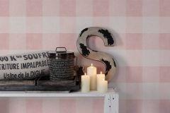 36715-2 cikkszámú tapéta.Textilmintás,geometriai mintás,különleges felületű,fehér,pink-rózsaszín,lemosható,vlies tapéta