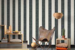 36718-1 cikkszámú tapéta.Csíkos,különleges felületű,textilmintás,fehér,szürke,lemosható,illesztés mentes,vlies tapéta