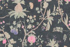36719-7 cikkszámú tapéta.Konyha-fürdőszobai,különleges felületű,természeti mintás,textilmintás,bézs-drapp,lila,pink-rózsaszín,szürke,zöld,lemosható,vlies tapéta