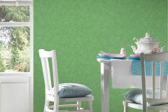 36721-2 cikkszámú tapéta.Egyszínű,textilmintás,zöld,lemosható,illesztés mentes,vlies tapéta