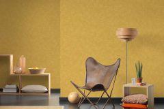36721-3 cikkszámú tapéta.Egyszínű,textilmintás,sárga,lemosható,illesztés mentes,vlies tapéta