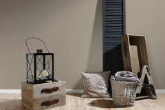 3459-29 cikkszámú tapéta.Egyszínű,különleges felületű,textil hatású,barna,súrolható,illesztés mentes,vlies tapéta