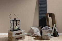 3459-74 cikkszámú tapéta.Egyszínű,különleges felületű,textil hatású,barna,súrolható,illesztés mentes,vlies tapéta
