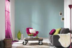 3462-47 cikkszámú tapéta.Egyszínű,gyerek,különleges felületű,textil hatású,kék,súrolható,illesztés mentes,vlies tapéta