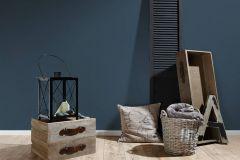 3462-54 cikkszámú tapéta.Egyszínű,különleges felületű,textil hatású,kék,súrolható,illesztés mentes,vlies tapéta