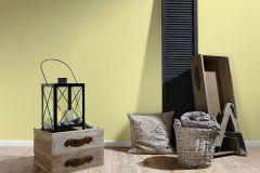 3462-85 cikkszámú tapéta.Egyszínű,gyerek,különleges felületű,textil hatású,sárga,súrolható,illesztés mentes,vlies tapéta