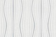 35597-1 cikkszámú tapéta.3d hatású,absztrakt,csíkos,különleges motívumos,rajzolt,retro,fehér,szürke,súrolható,vlies tapéta