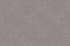 37477-4 cikkszámú tapéta.Geometriai mintás,különleges motívumos,barna,lemosható,vlies tapéta