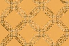 37477-5 cikkszámú tapéta.Geometriai mintás,különleges motívumos,sárga,szürke,lemosható,vlies tapéta