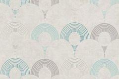 37480-4 cikkszámú tapéta.3d hatású,geometriai mintás,különleges motívumos,bézs-drapp,kék,szürke,lemosható,vlies tapéta