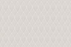 37484-1 cikkszámú tapéta.3d hatású,geometriai mintás,különleges motívumos,bézs-drapp,vajszín,lemosható,vlies tapéta