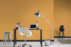 3750-01 cikkszámú tapéta.Egyszínű,sárga,lemosható,illesztés mentes,vlies tapéta