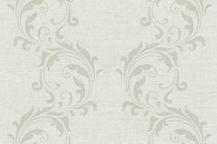 35832-3 cikkszámú tapéta.Barokk-klasszikus,különleges felületű,különleges motívumos,szürke,súrolható,vlies tapéta