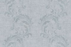 35832-4 cikkszámú tapéta.Barokk-klasszikus,különleges felületű,különleges motívumos,szürke,súrolható,vlies tapéta