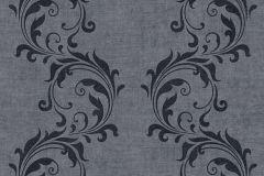 35832-5 cikkszámú tapéta.Barokk-klasszikus,különleges felületű,különleges motívumos,fekete,szürke,súrolható,vlies tapéta