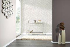 35857-2 cikkszámú tapéta.Különleges felületű,különleges motívumos,rajzolt,bézs-drapp,fehér,lemosható,vlies tapéta